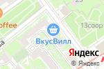 Схема проезда до компании Solana интерьер в Москве