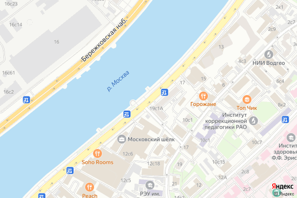 Ремонт телевизоров Саввинская набережная на яндекс карте