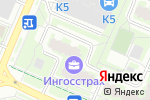 Схема проезда до компании Натали в Москве