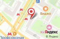 Схема проезда до компании Промтекс в Москве
