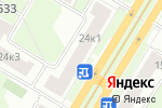 Схема проезда до компании Gilio в Москве