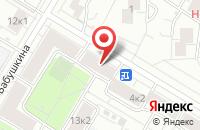 Схема проезда до компании Эмчи в Москве