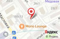 Схема проезда до компании Максистрой в Москве