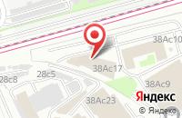 Схема проезда до компании Иномотор Плюс в Москве