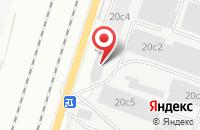 Схема проезда до компании Сталевар в Подольске