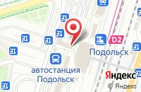 Схема проезда до компании Стардог!s в Подольске