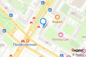 Комната в двухкомнатной квартире в Москве м. Профсоюзная, Профсоюзная улица, 19