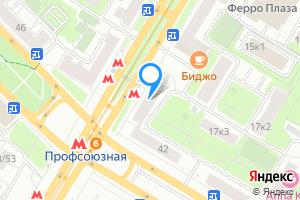 Сдается комната в двухкомнатной квартире в Москве м. Профсоюзная, Профсоюзная улица, 19