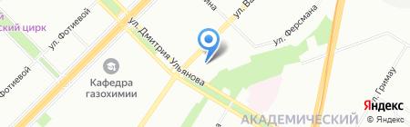 УпакСнаб на карте Москвы