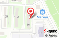 Схема проезда до компании Ровесник в Подольске