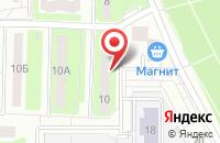 Схема проезда до компании Библиотека семейного чтения №4 в Подольске