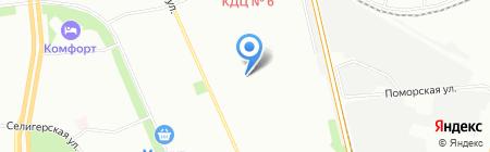 Компьютерный сервис-центр на карте Москвы