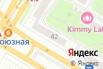Схема проезда до компании Банк Русский Стандарт в Москве