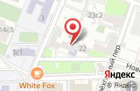 Схема проезда до компании ЕвроСпецТорг в Москве
