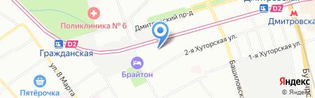 Нормативные документы образовательного учреждения на карте Москвы