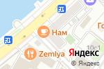 Схема проезда до компании Остров Сокровищ в Москве