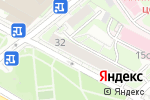 Схема проезда до компании МосТеплоАудит в Москве