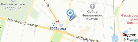 РУСАЭРО-Тур на карте Москвы