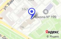 Схема проезда до компании ДОПОЛНИТЕЛЬНЫЙ ОФИС АКАДЕМИЧЕСКИЙ в Москве