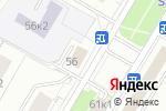 Схема проезда до компании Почтовое отделение №117418 в Москве