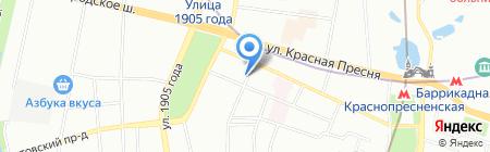 Залп на карте Москвы