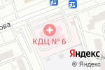 Схема проезда до компании Консультативно-диагностический центр №6 в Москве