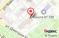Схема проезда до компании Опс в Москве