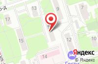 Схема проезда до компании Унипромтех в Москве