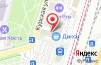 Схема проезда до компании Faberlic в Подольске