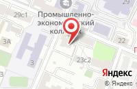 Схема проезда до компании Ньюкоммерцстрой в Москве