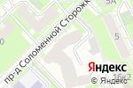 Схема проезда до компании Eroline.pro в Москве