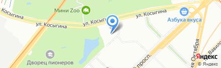 Ависта на карте Москвы