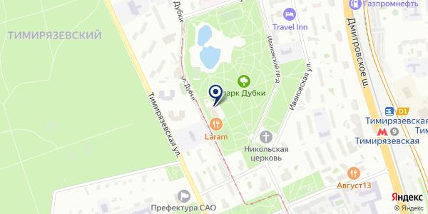 Микула на карте Москве