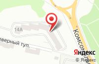 Схема проезда до компании СМУ №3-Подолье в Подольске