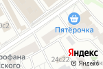 Схема проезда до компании Manilla в Москве