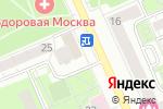 Схема проезда до компании АСВА в Москве