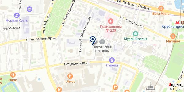ПРЕДСТАВИТЕЛЬСТВО В МОСКВЕ ПТФ WELLA AG на карте Москве