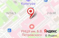 Схема проезда до компании Арилия в Москве