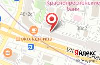 Схема проезда до компании Офицерская Корпорация-1 в Москве