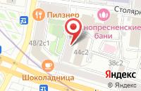 Схема проезда до компании Стройпроектгрупп в Москве