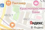 Схема проезда до компании Патронаж сити в Москве