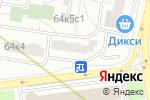 Схема проезда до компании Медицинский центр акупунктуры и гомеопатии Виктории Томас в Москве