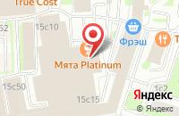 Схема проезда до компании Цифровая типография 21 в Москве