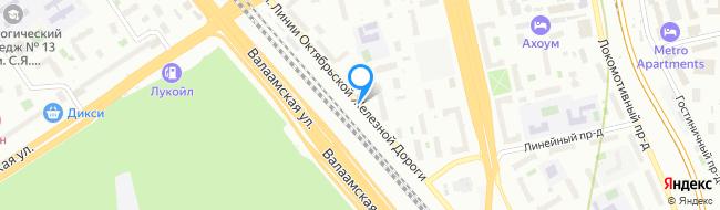 улица Линии Октябрьской Железной Дороги