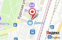 Схема проезда до компании Мастер-плюс в Подольске