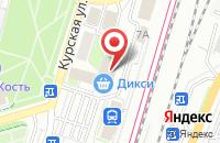Схема проезда до компании Росцветторг в Подольске