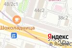 Схема проезда до компании RusInvestProject в Москве