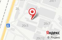 Схема проезда до компании Вессель в Подольске