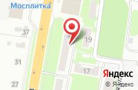 Схема проезда до компании Ателье в Подольске
