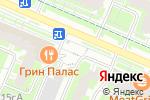 Схема проезда до компании Посейдон-2004 в Москве